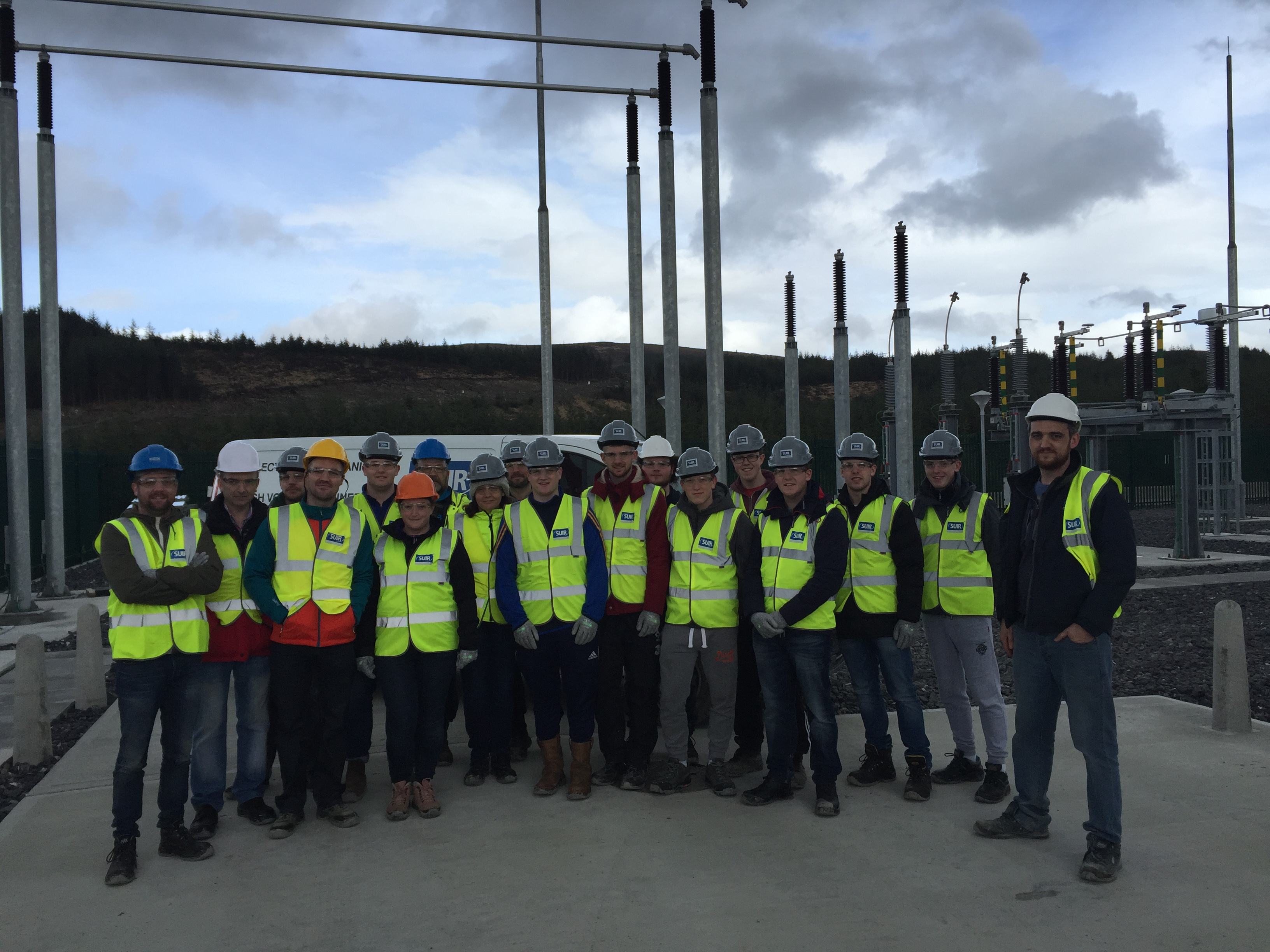 Students from WIT Visit the Slievecallan Wind Farm Development