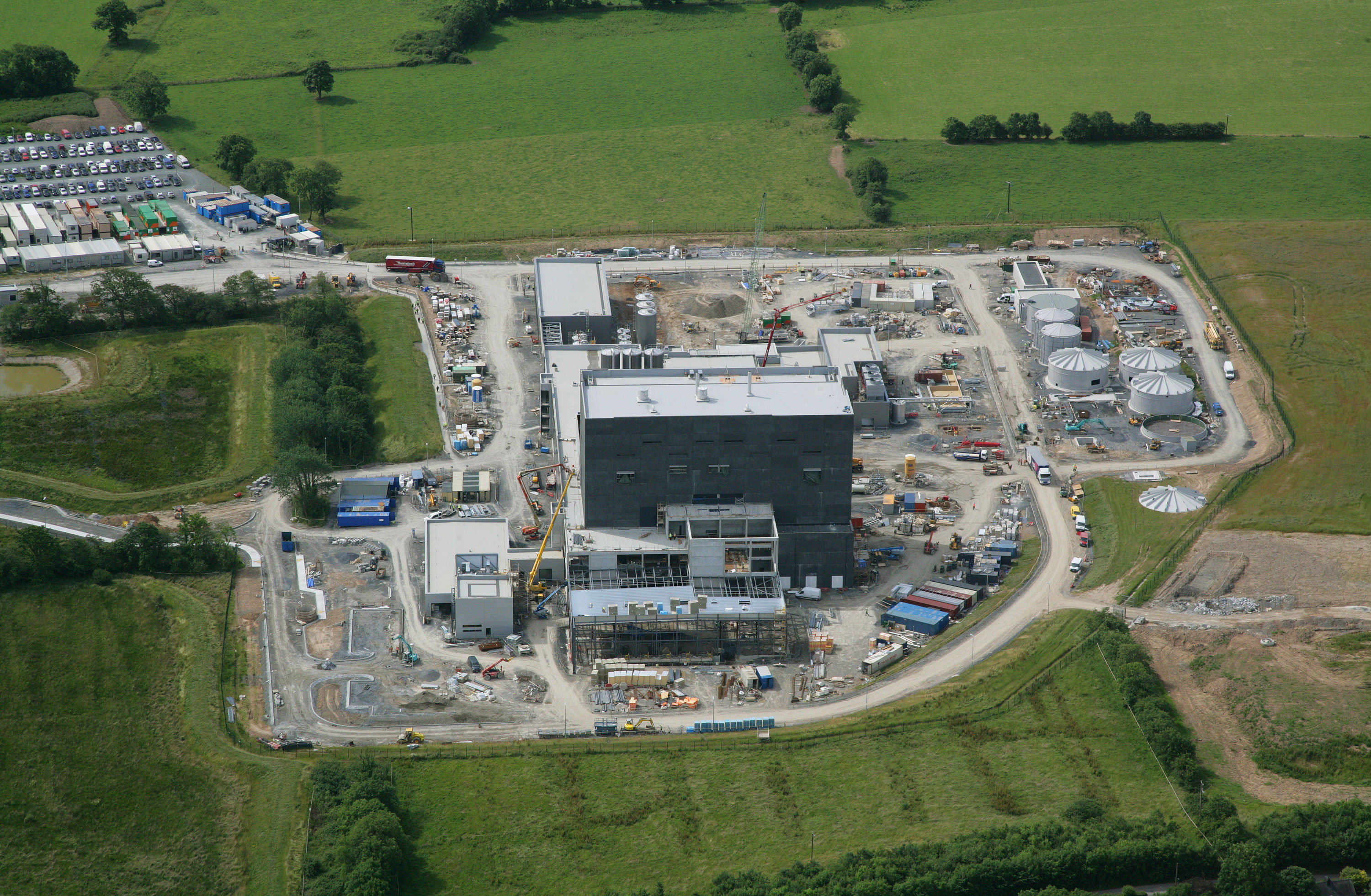 Glanbia New Dairy Processing Facility under construction