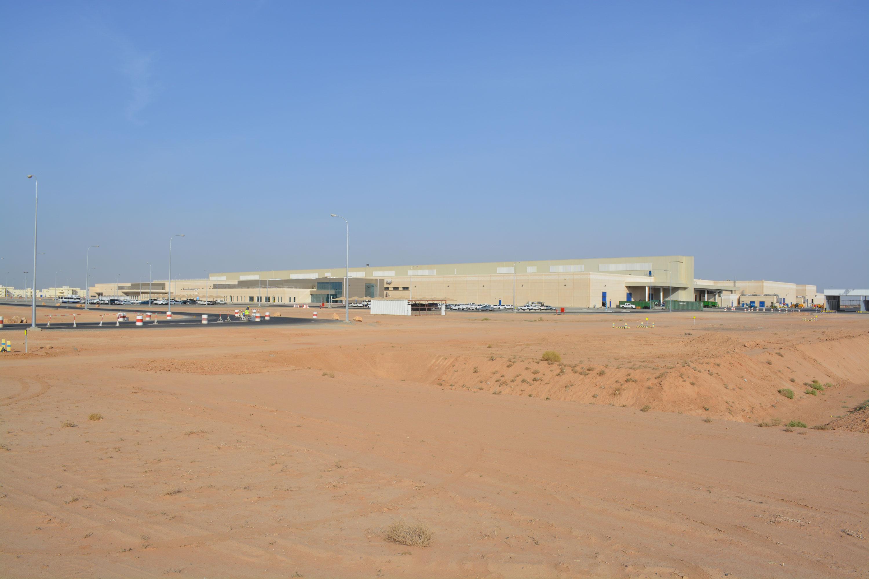 External view of whole building at Almarai Project Cradle – Riyadh, Kingdom Of Saudi Arabia