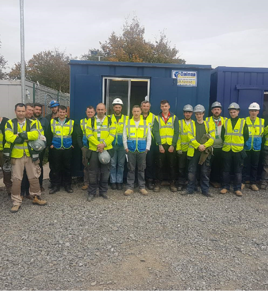 Suir engineering are MSD Brinny contractor of the month 3 months in a row