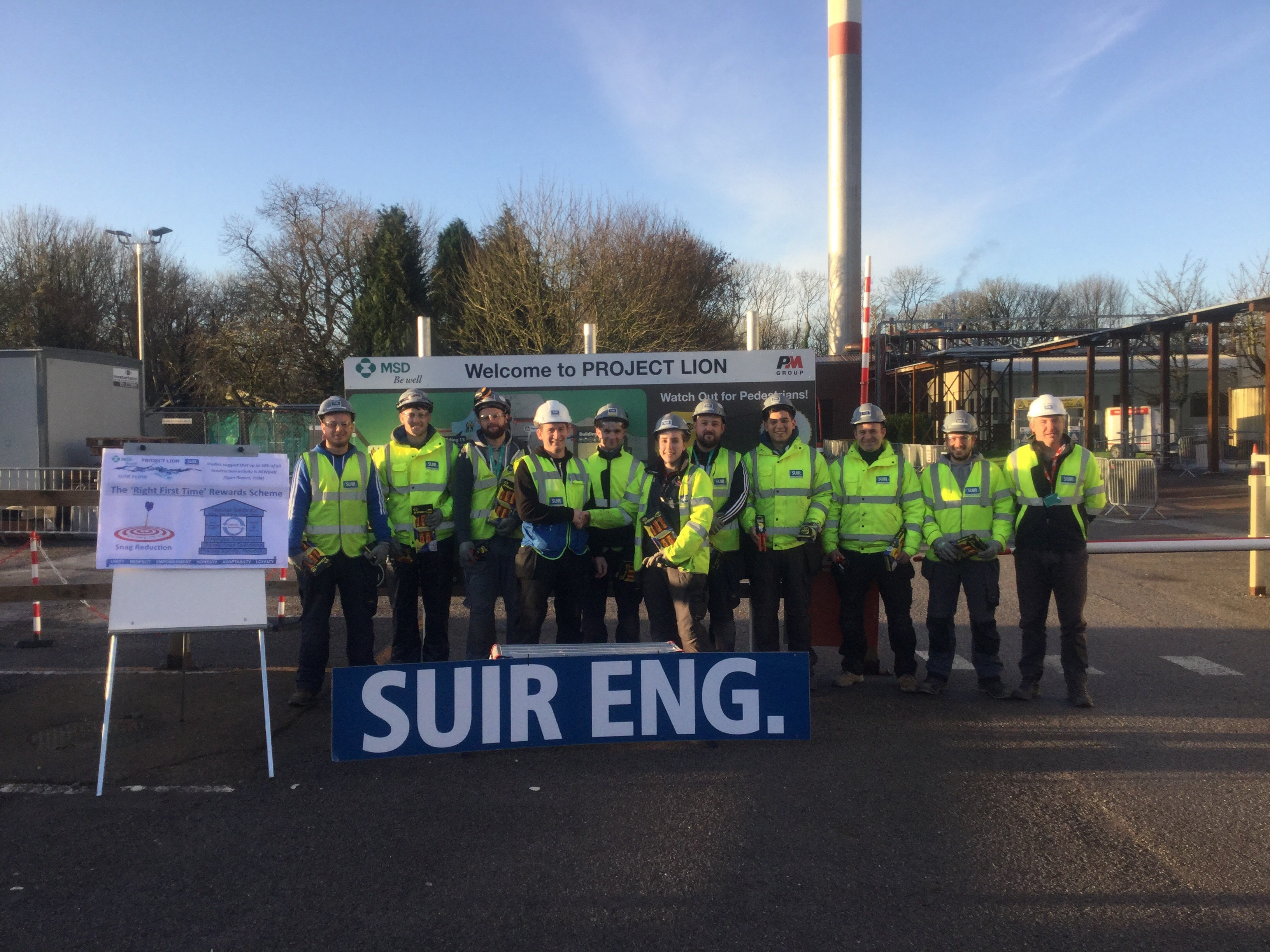 Suir eng onsite at MSD Brinny project