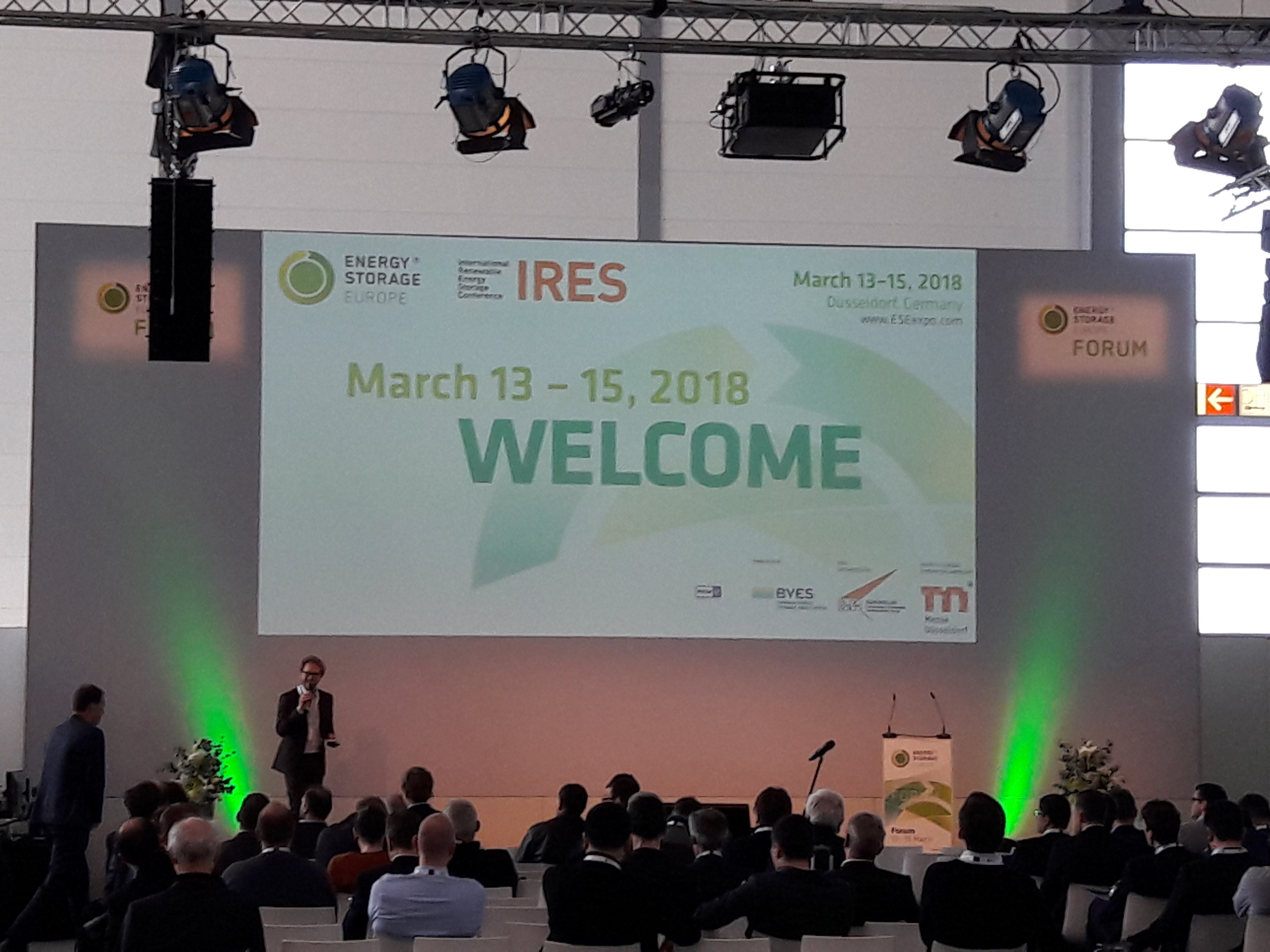 Energy Storage Europe Conference stage 2018