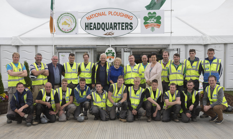 Suir engineering team at NPA Ploughing Launch 2018