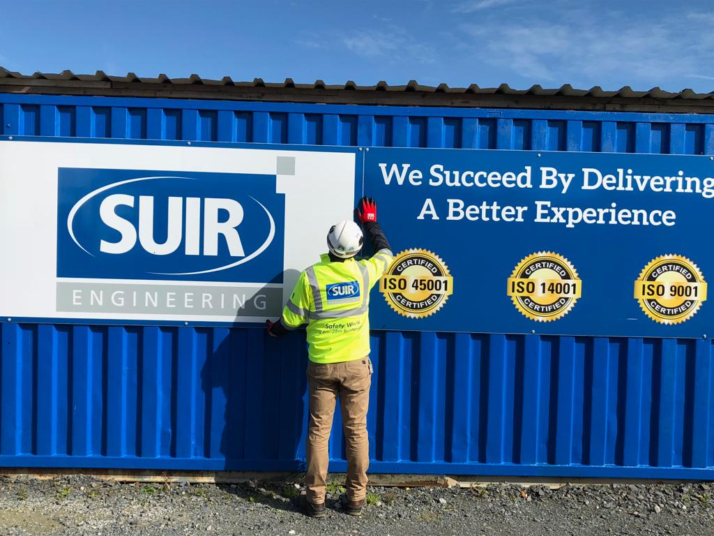 Suir Engineering quality standard sign