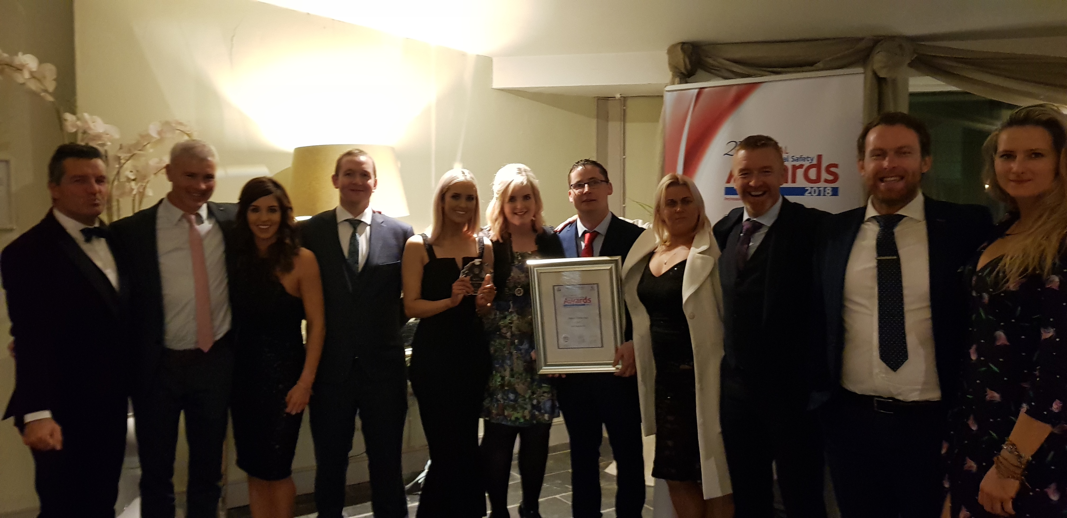 Higher Distinction Award at 27th Annual All Ireland Occupational Safety Awards