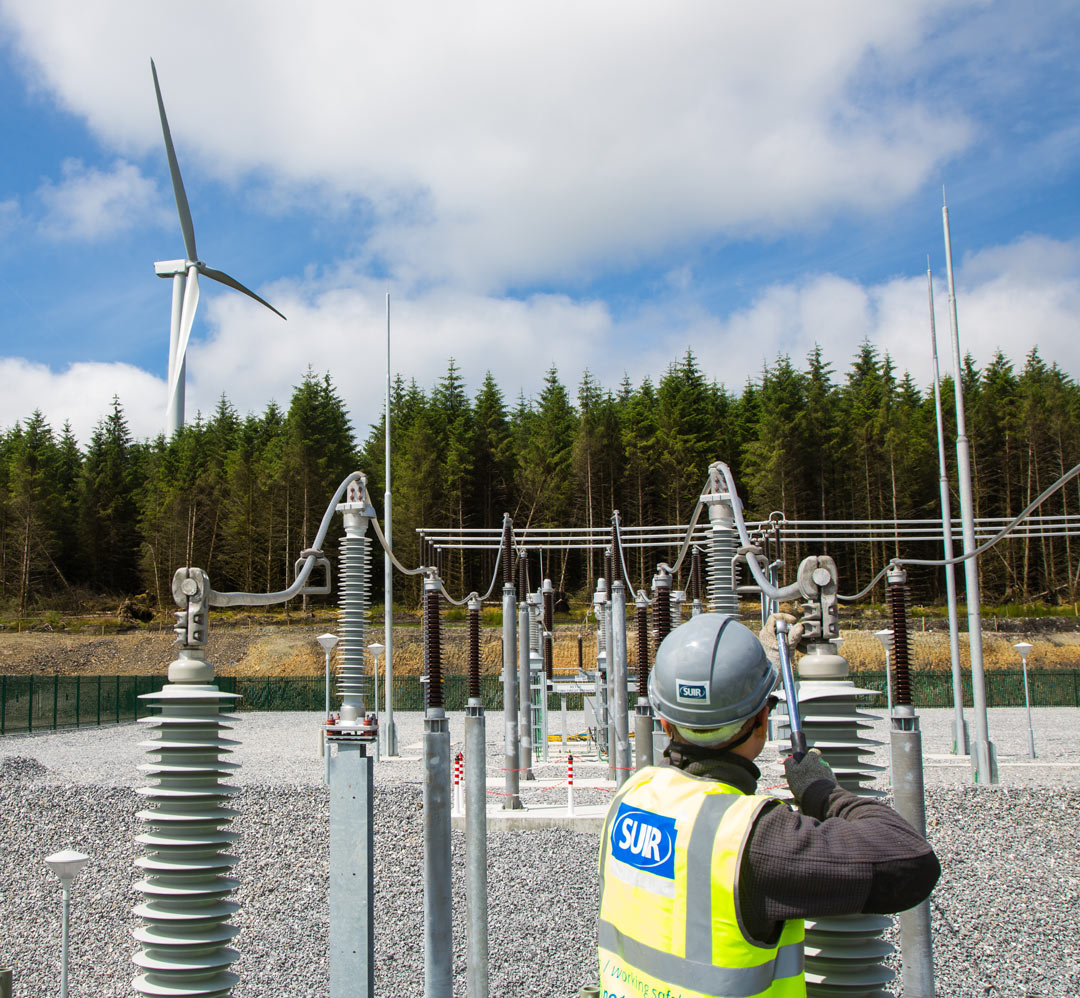 Suir Engineering tightening a bolt at an energy plant