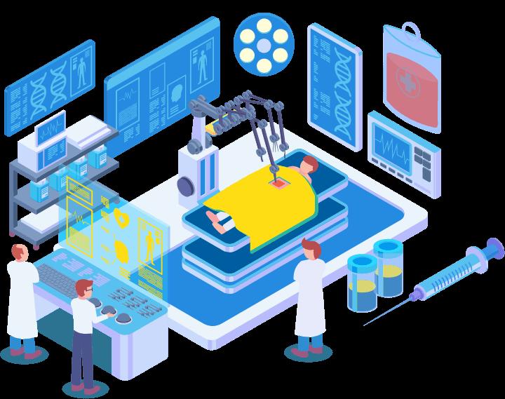 suir eng medtech sector illustration