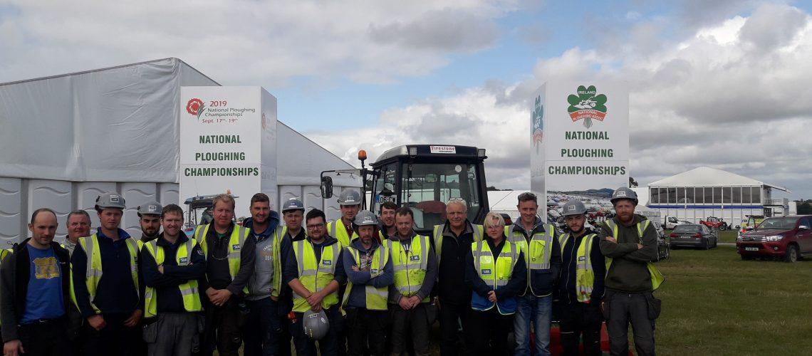 Ploughing team 2019