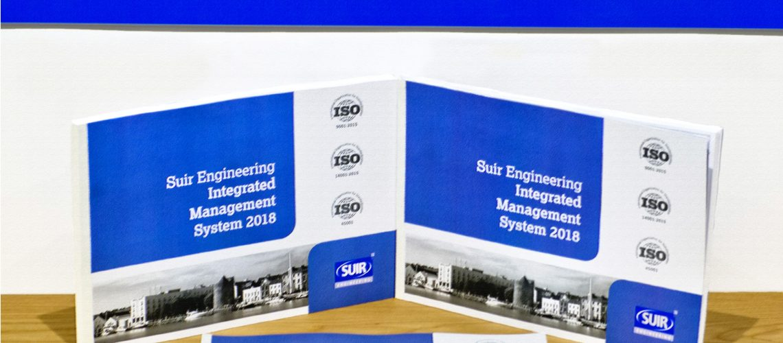Suir engineering integrated management system booklets
